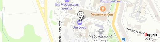 Правда-ПФО на карте Чебоксар