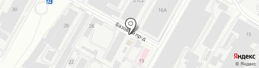 Региональный Центр Торговли на карте Чебоксар