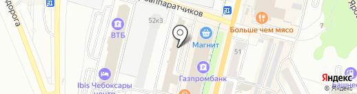 Жемчужная усадьба на карте Чебоксар