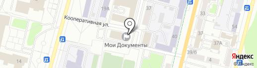 Фотографика на карте Чебоксар