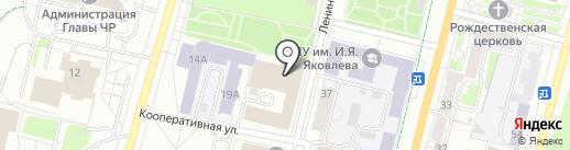 РЕСО-Гарантия на карте Чебоксар