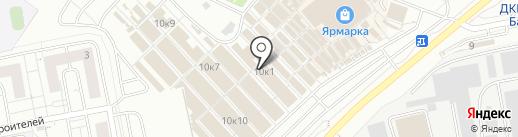 Магазин женской одежды на карте Чебоксар