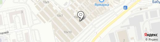 Магазин сувениров на карте Чебоксар