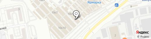 Магазин спортивной одежды на карте Чебоксар