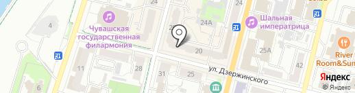 The OSCARS на карте Чебоксар