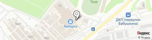 Русфинанс банк на карте Чебоксар