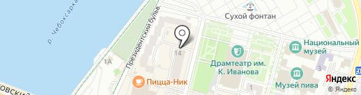 АвтоТрансСоюз на карте Чебоксар