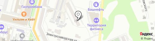 НЕБО на карте Чебоксар