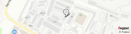Опторинг на карте Чебоксар