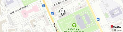 Glory Nails на карте Чебоксар
