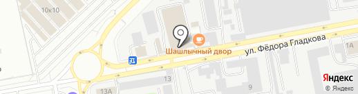 Автомагазин на карте Чебоксар