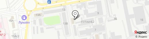 ТД Цельсий на карте Чебоксар