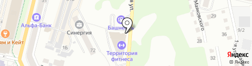 Альфа Центр на карте Чебоксар