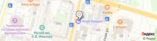 Grimerka на карте Чебоксар