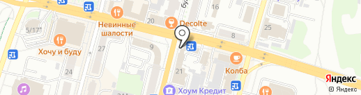 Золотой ломбард на карте Чебоксар