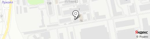 Автотехцентр на карте Чебоксар