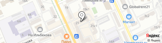 DogSity на карте Чебоксар