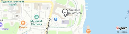 Иконная лавка на карте Чебоксар