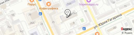 М-платформа на карте Чебоксар