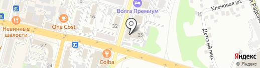 ЧЕБСТРОЙ на карте Чебоксар