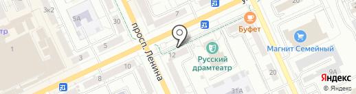 Золотая Камея на карте Чебоксар