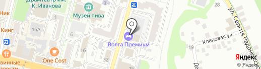 Банкомат, КБ Мегаполис на карте Чебоксар