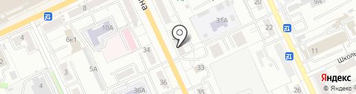 Скала на карте Чебоксар