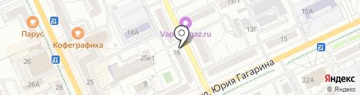 Магазин кондитерских изделий на карте Чебоксар