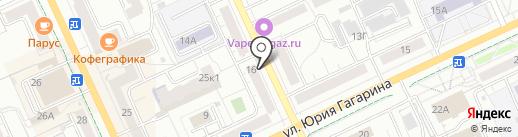 Чебоксары-Телеком, МБУ на карте Чебоксар