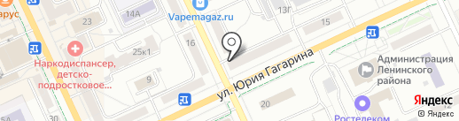 Бочка на карте Чебоксар