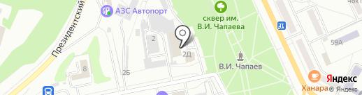Региональная на карте Чебоксар
