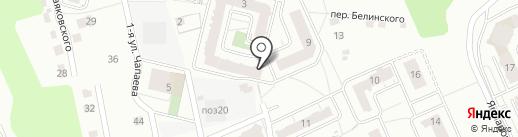 СтройТрест на карте Чебоксар
