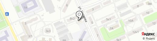 Студия заточки маникюрного и парикмахерского инструмента на карте Чебоксар