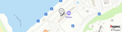 Объединенная управляющая компания на карте Чебоксар