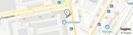 Офис-Премьер на карте Чебоксар