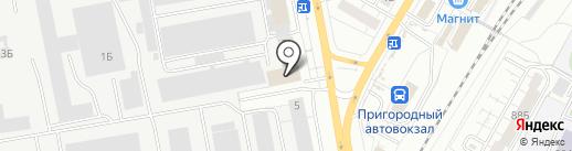 Чебуречная №1 на карте Чебоксар