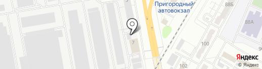 ЧЭАЗ-ЭЛПРИ на карте Чебоксар