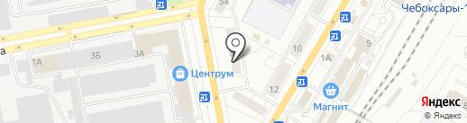 СЛАВА на карте Чебоксар