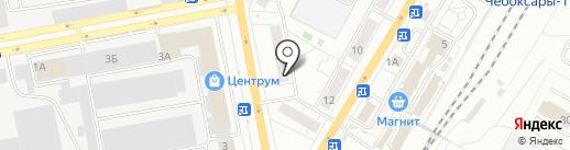Эроlove на карте Чебоксар