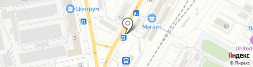 Микрон на карте Чебоксар