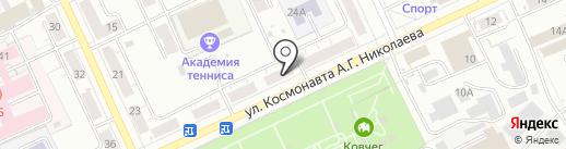 Мировые судьи Ленинского района на карте Чебоксар