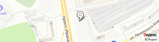 Мясной магазин на карте Чебоксар