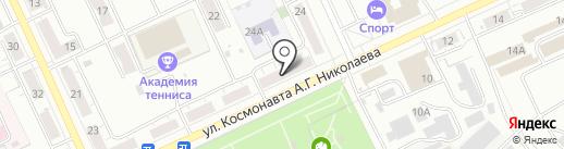 Садовод на карте Чебоксар