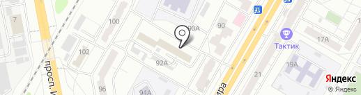 ВЕКСМАРТ на карте Чебоксар