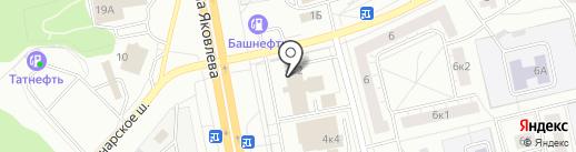 Бар-ВТИ на карте Чебоксар