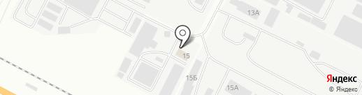 Реал на карте Чебоксар