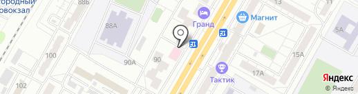 Бизнес DВИЖ`ОК Чувашии на карте Чебоксар