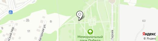 Храм-часовня Иоанна Воина на карте Чебоксар