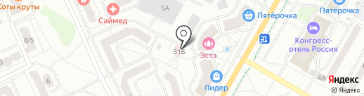 Asti Fashion Room на карте Чебоксар