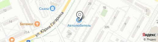 Democars на карте Чебоксар